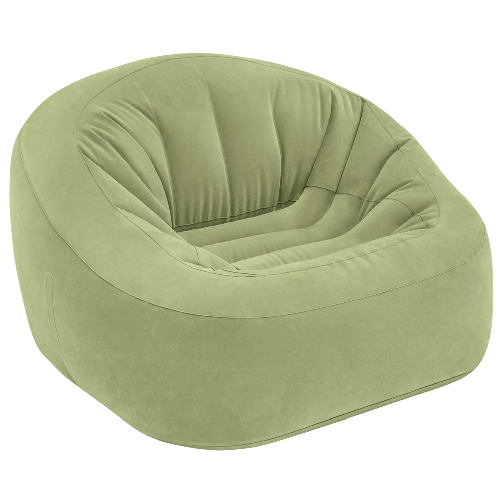 Fotel Dmuchany Pufa Welurowa 119 Cm Intex 68576
