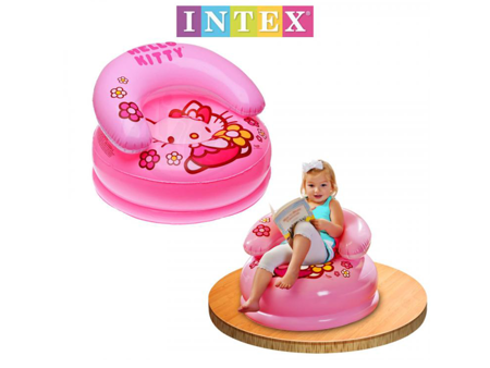 FOTEL FOTELIK DMUCHHANY Hello Kitty INTEX 48508