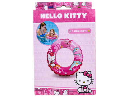KOŁO KÓŁKO DO PŁYWANIA 61 Hello Kitty Intex 56210